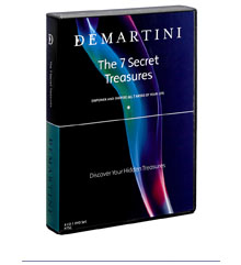Dr John Demartini - 7 Secret Treasures [1 avi, 7CDs - 62 MP3s, 7 workbooks - 39 JPGs]