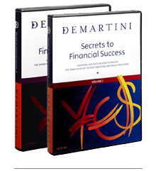 Dr John Demartini - Secrets to Financial Success [12 CDs - 114 MP3s]