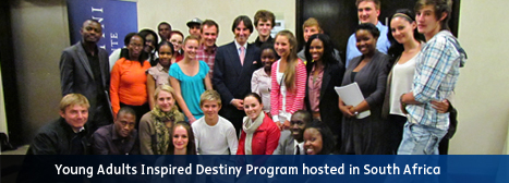 Young Adults Inspired Destiny